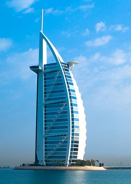 Burj Al Arab Hotel is a luxury hotel and 7star hotel in Dubai, United Arab Emirates